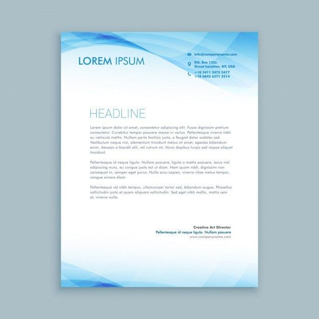 Letterhead Template Vectors, Photos and PSD files | Free Download