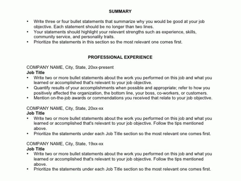 how to write an australian resume