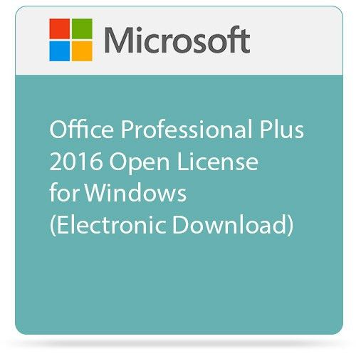 Microsoft Office Professional Plus 2016 Open License 79P-05552