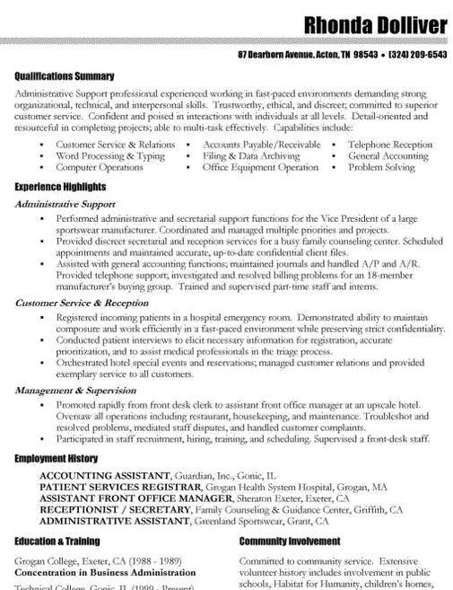 Good Resume Objectives For Accounting Clerk Professional Regarding ...