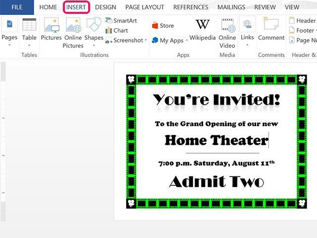 How to Make Invitations in Word | Techwalla.com