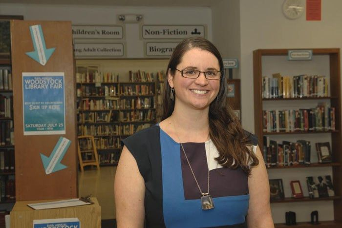 Former head librarian Jessica Kerr is named Woodstock Library ...