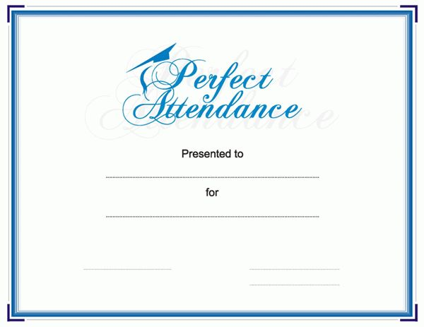 Free Editable Certificate Of Attendance Or Participation Template ...