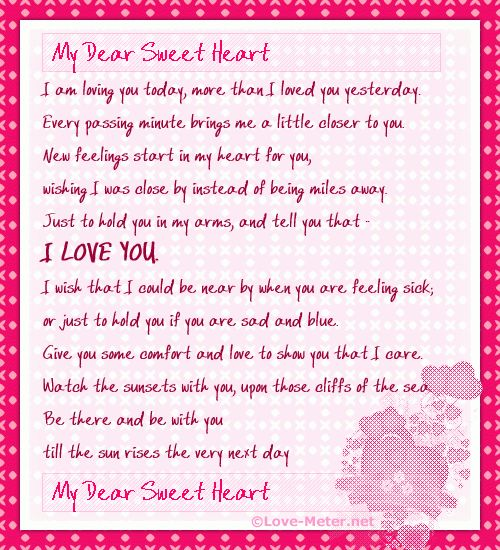 sample love letter Archives - Sample Letter