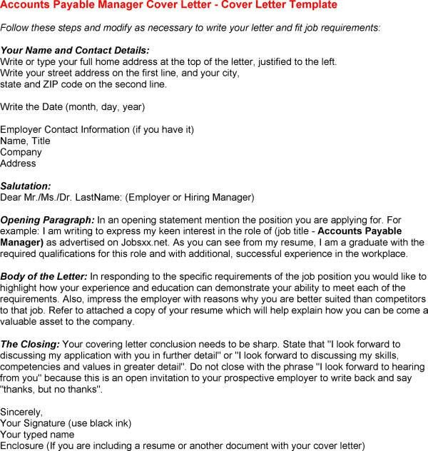 Pin Clerk Cover Letter Sample on Pinterest in Accounts Payable ...