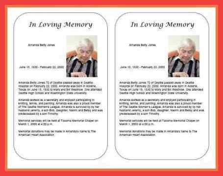 sample obituary for husband | memo example