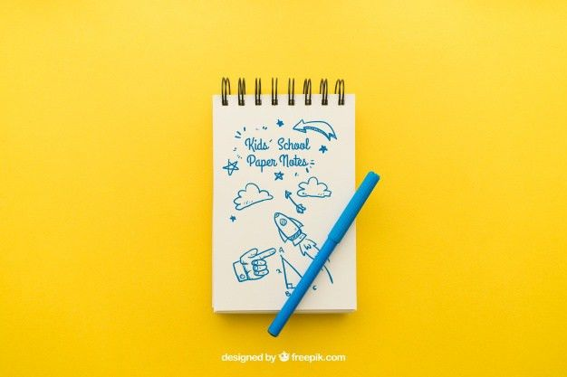 Notebook Paper Vectors, Photos and PSD files | Free Download