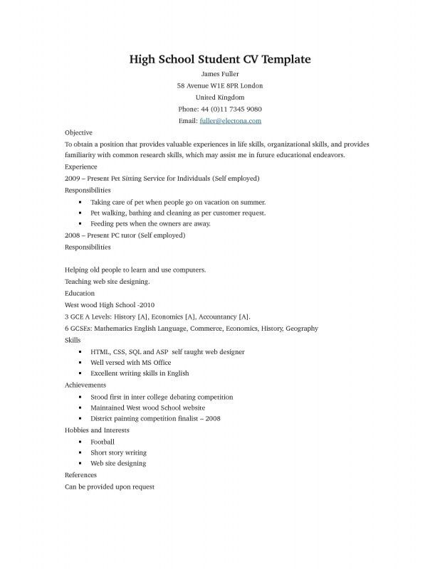 resume microsoft - Template