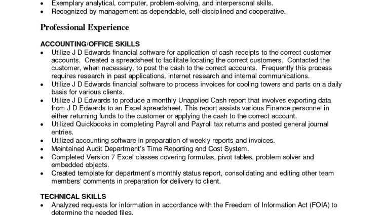 accounts payable resume sample unforgettable accounts payable