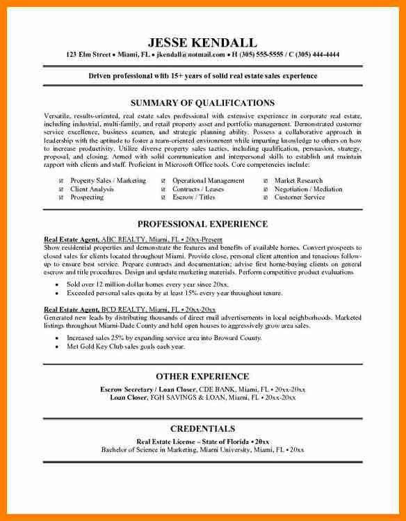 6+ resumes for real estate agents   forklift resume