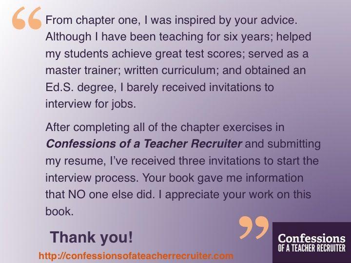 22 best Teacher Inspiration- My Resume Book for Teachers images on ...