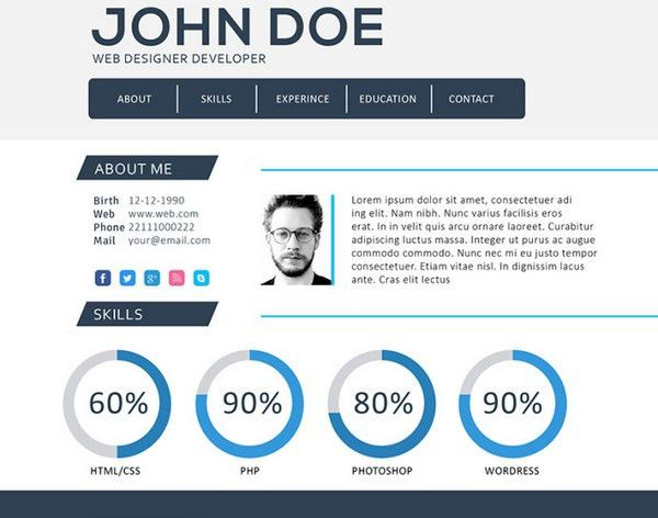 Lovely Inspiration Ideas Web Resume 13 How To Build A Resume ...