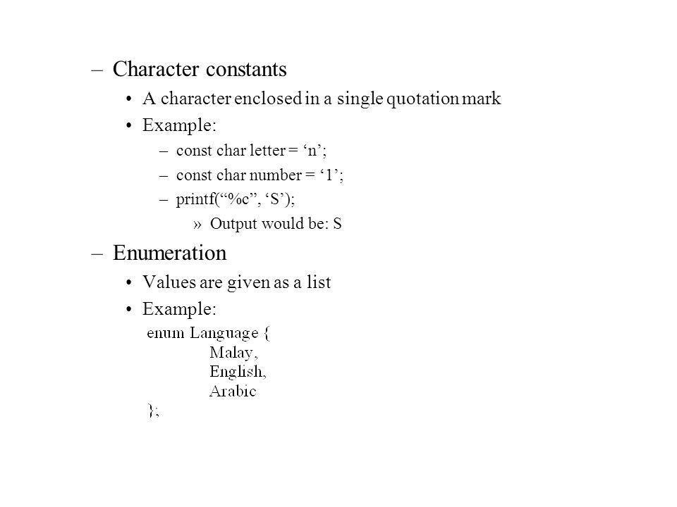 Chapter 3: Introduction to C Programming Language C development ...