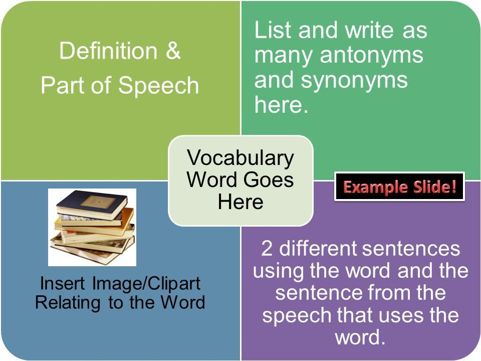 Write your own Title Here Vocabulary Practice - ppt download