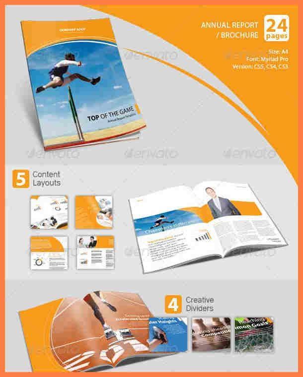 8+ company annual report template | Company Letterhead