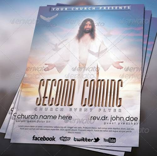 20 Best Church Flyer Templates | NEVAZA