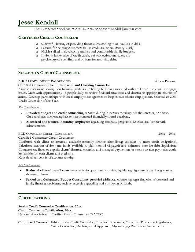 guidance counselor resume school counselor resume sample educator