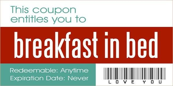 10 Love Coupons Every Couple Should Exchange ...