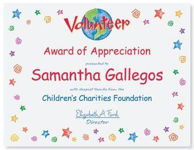 Creating a Memorable Volunteer Certificate | PaperDirect Blog