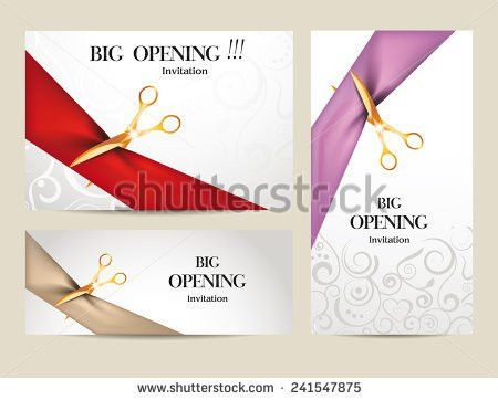 Vector Grand Opening Background - Download Free Vector Art, Stock ...
