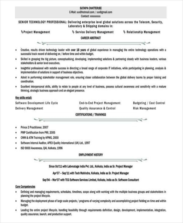 Download Executive Administration Sample Resume ...