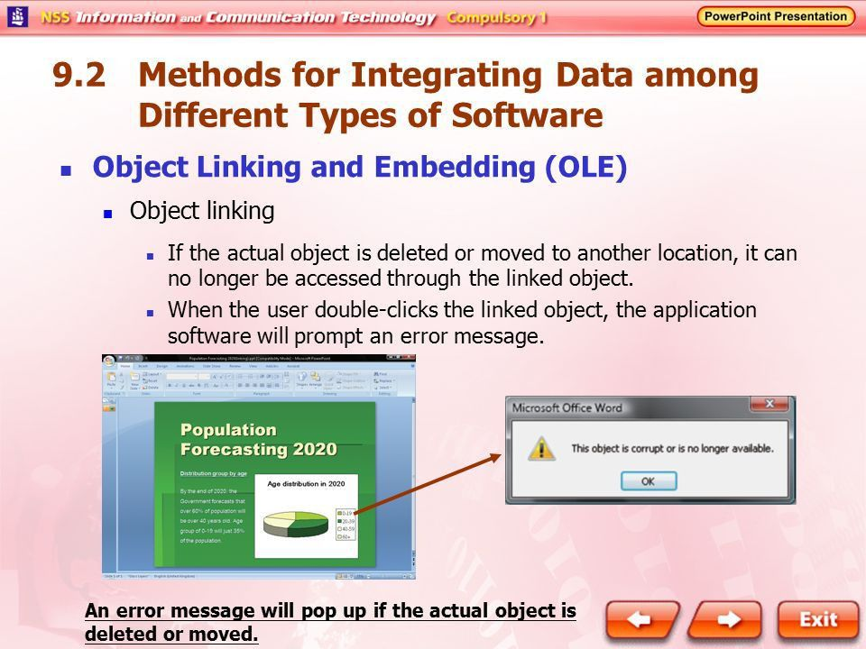 9.1 The Need for Integrating Data among Different Types of ...