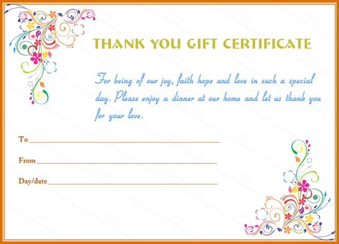 Gift certificate letter template apology for poor service with thank you certificate templatereference letters words reference negle Image collections