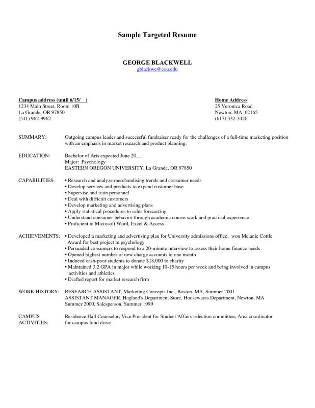 sample of targeted resume usajobs resume template federal resume