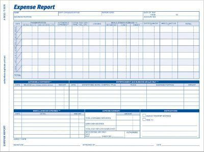 Adams® Weekly Expense Report | Staples®