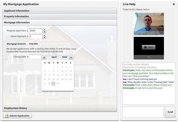 Live Help / Call Center Application with Flex and BlazeDS ...