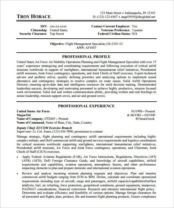 federal resume samples. government resume samples resume cv cover ...