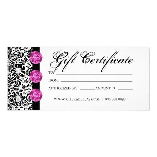 Sample Blank Gift Certificate Template. Blank Gift Certificate ...
