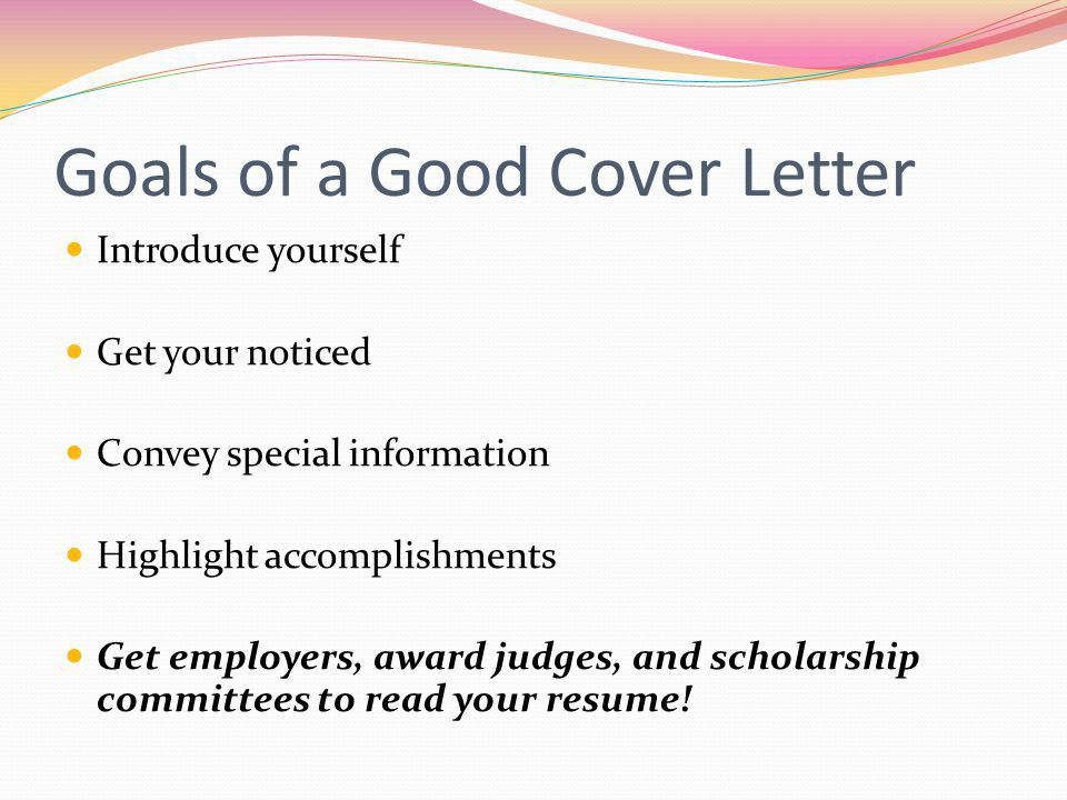 great cover letter openers