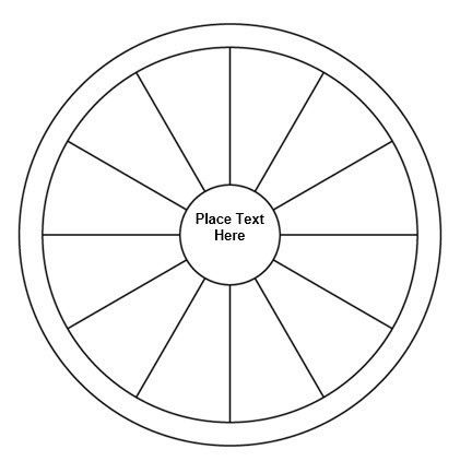 Spider Diagram Template. This Free Umbrella Chart Zip File I Found .