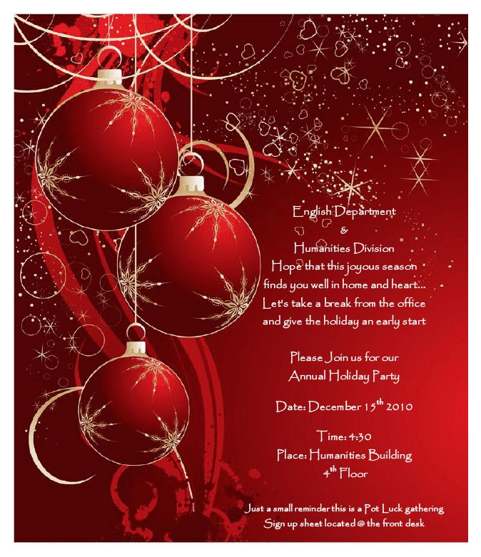 10 Best Images of Printable Blank Christmas Flyers - Holiday ...