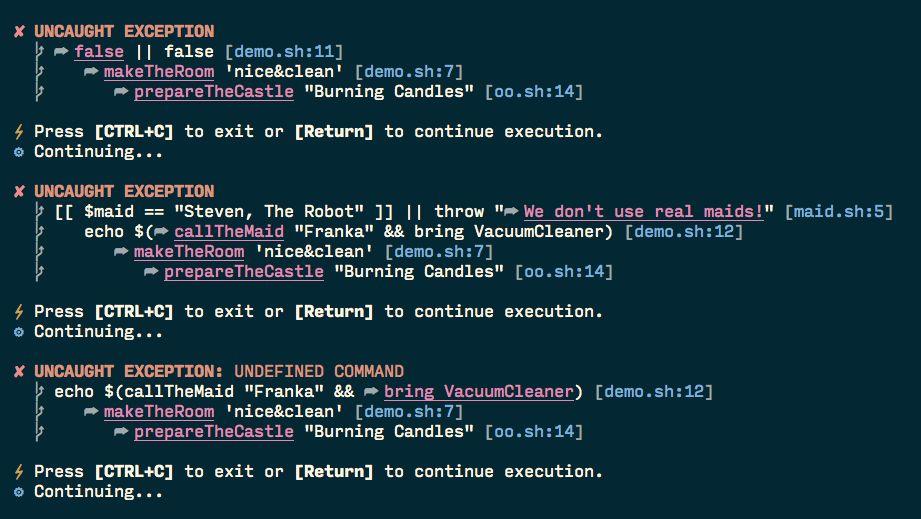 Error handling in Bash - Stack Overflow