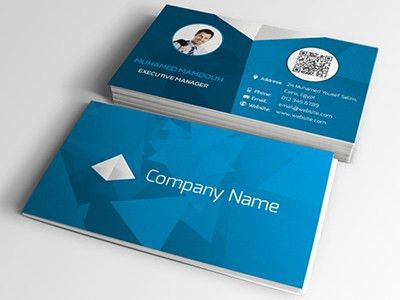 55 Best PSD Business Card Templates -DesignBump