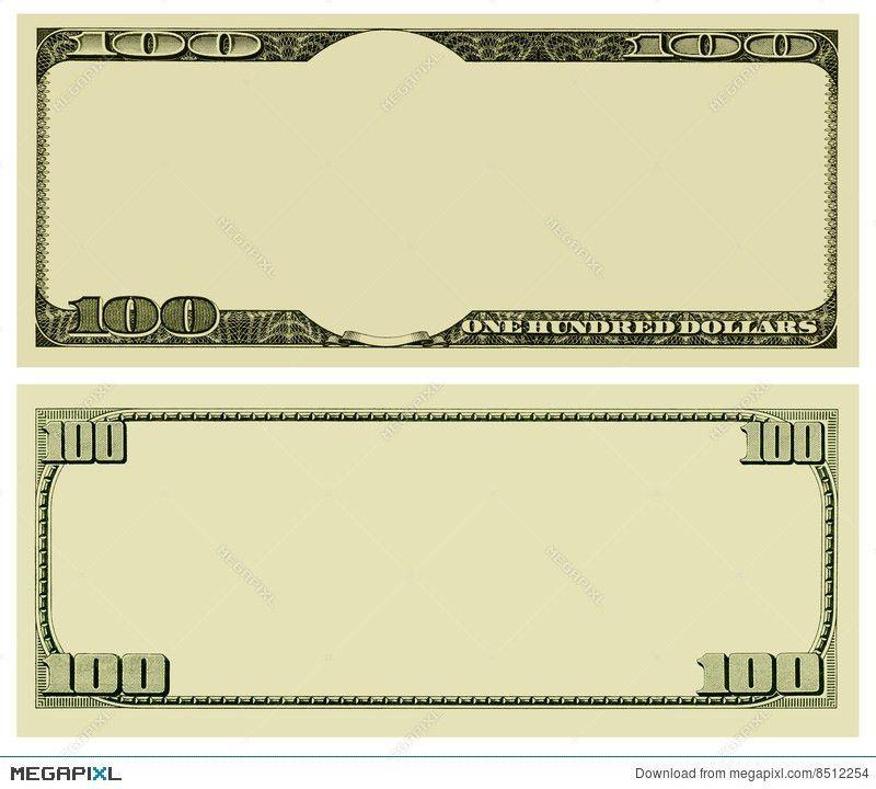 Blank Money Background Stock Photo 8512254 - Megapixl