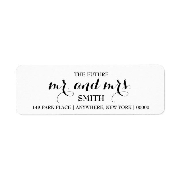 Return Address Labels & Templates | Zazzle