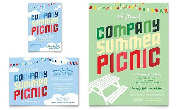 12+ Amazing Picnic Flyer Templates | Free & Premium Templates