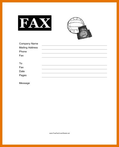 7+ free fax cover sheets | Itinerary Template Sample