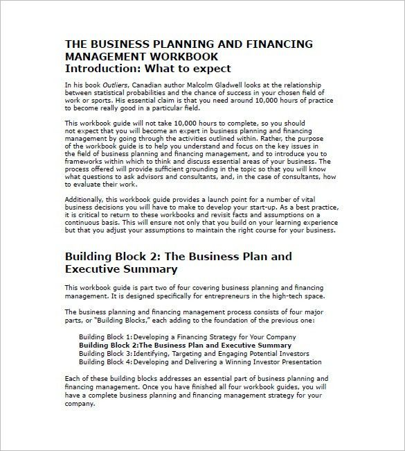 Business Plan Template – 86+ Free Word, Excel, PDF, PSD, Indesign ...