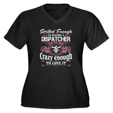 911 Dispatcher Women's Plus Size Clothing   Plus Size Shirts