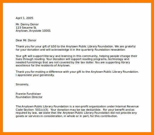 5+ thank you letter for a gift | science-resume