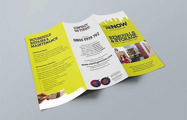 DL Folded Leaflet Printing | Free Delivery | Just-Printing.co.uk