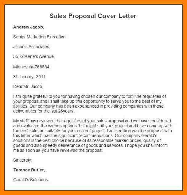 7+ sample sales proposal letter | packaging clerks