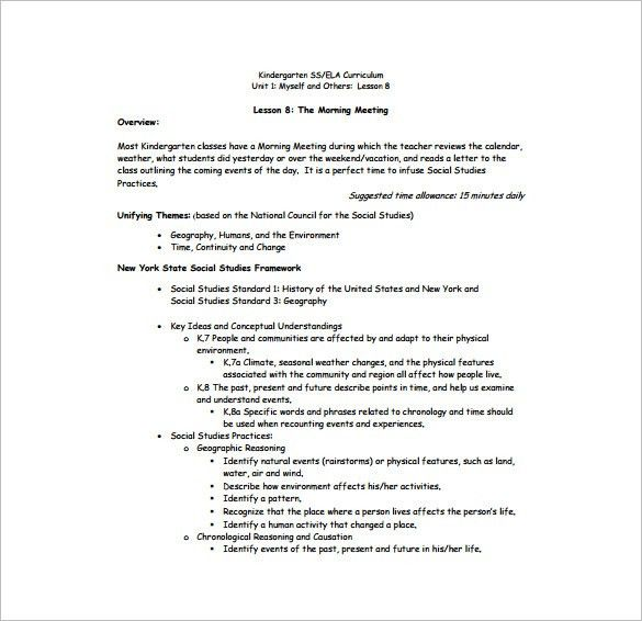 Awesome Daily Lesson Plan Template U2013 12+ Free Sample, Example, Format . Good Looking