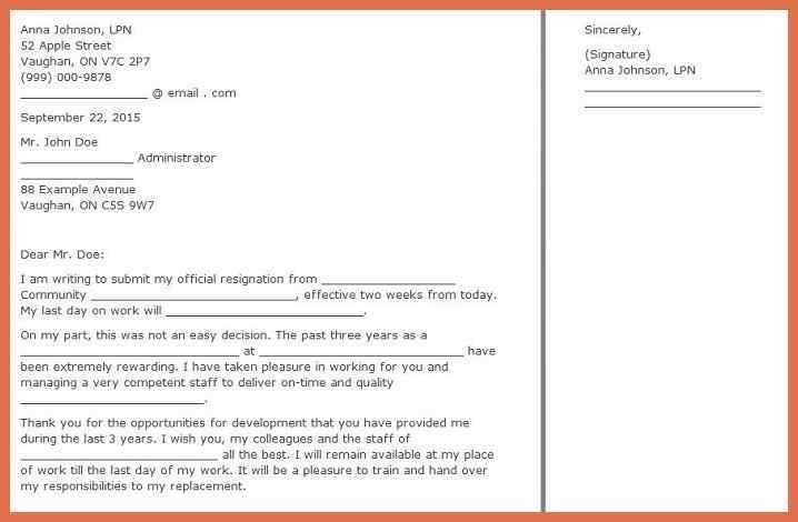Two Week Notice Email. Two-Weeks-Notice-Examples-2-Weeks-Notice ...