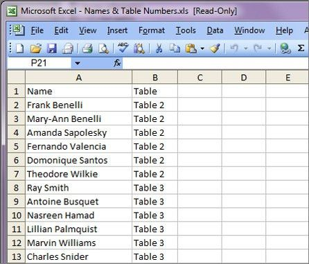 How to Use Microsoft Mail Merge to Print 4up Place Cards