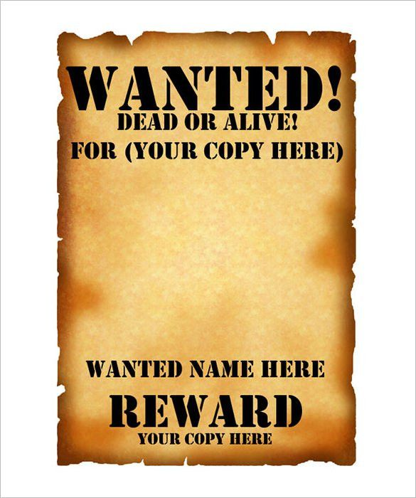 Best Wanted Sign Photos 2017 – Blue Maize